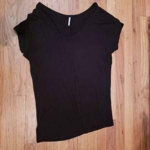 Tresics Black Short Sleeve Shirt size M